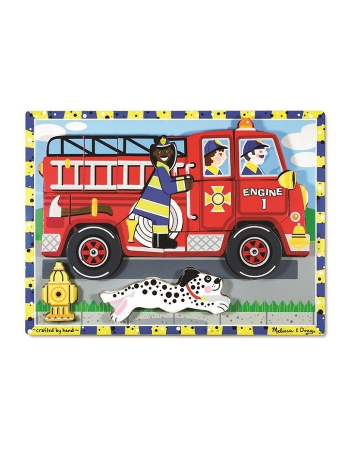 Chunky Puzzle - Fire Truck image 1