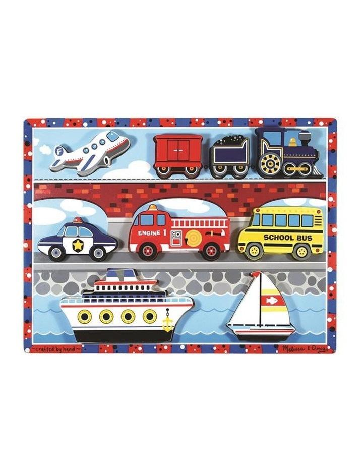 Chunky Puzzle - Vehicles image 1