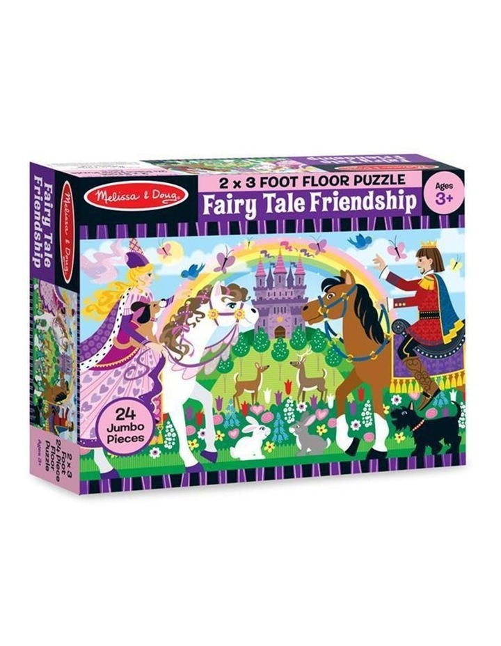 Fairy Tale Friendship Floor Puzzle - 24pc image 1