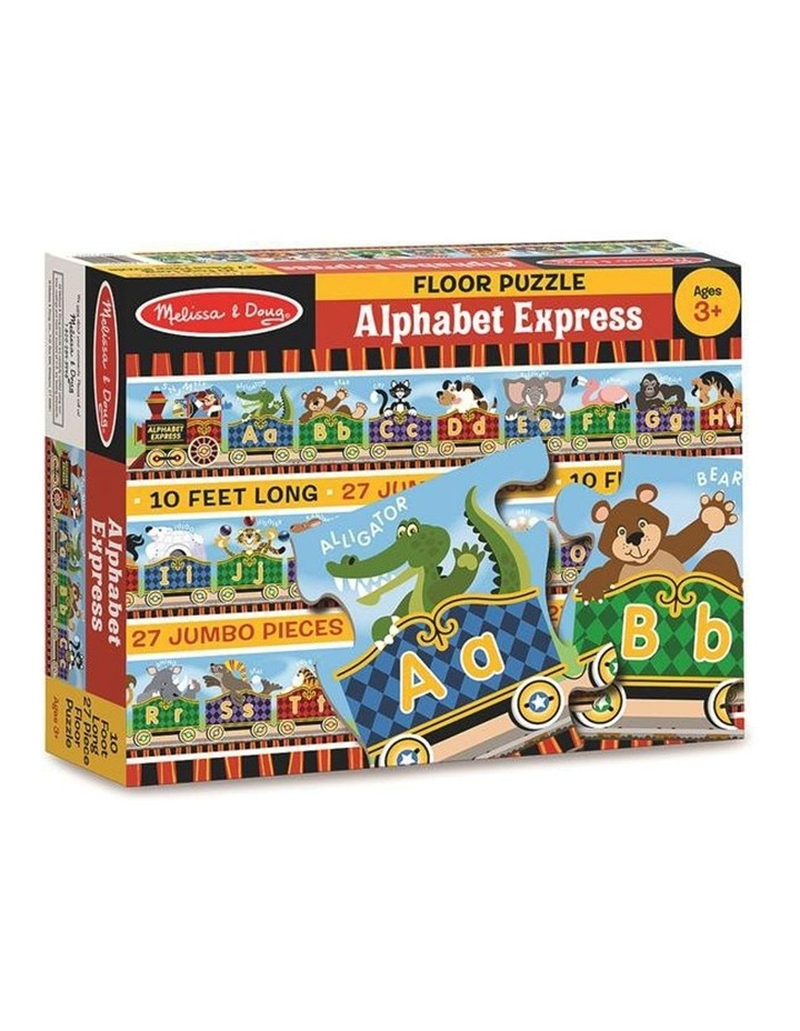 Alphabet Express Floor Puzzle 27pc image 1