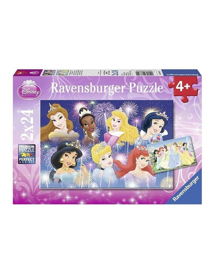 Disney The Princesses Gathering Puzzle 2x24pc image 1