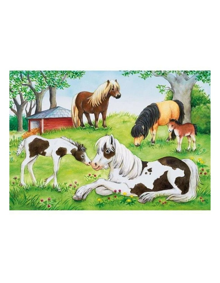 World of Horses Puzzle 2x24 Pieces image 2