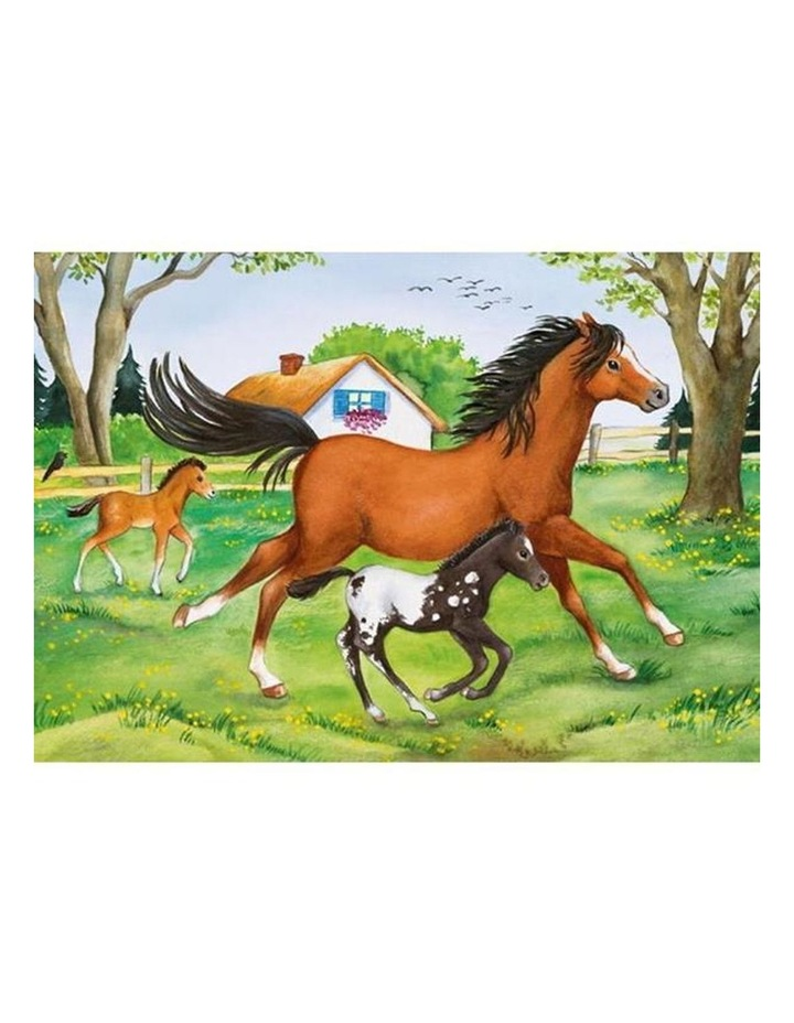 World of Horses Puzzle 2x24 Pieces image 3