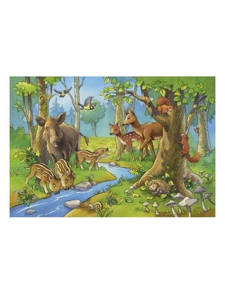 Cute Forest Animals Puzzle 2x24 Pieces image 2