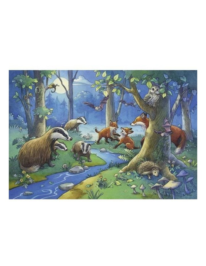 Cute Forest Animals Puzzle 2x24 Pieces image 3