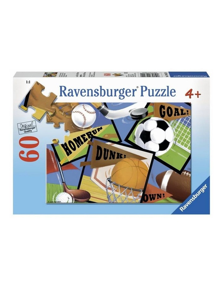 Sports! Sports! Sports! Puzzle 60 pieces image 1