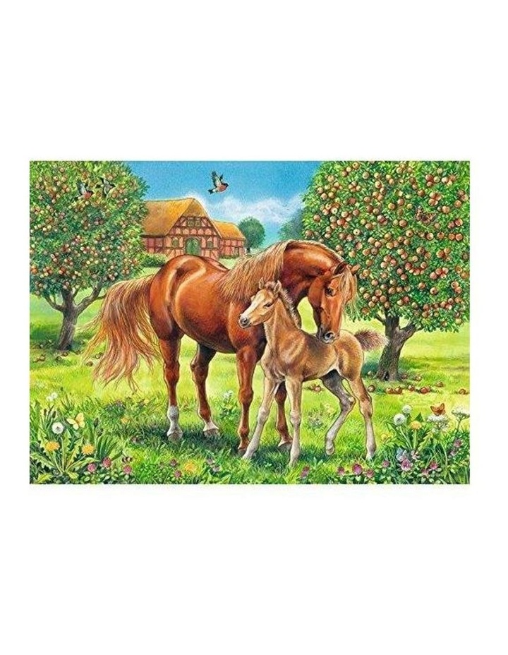 Horses in the Field Puzzle 100pc image 2
