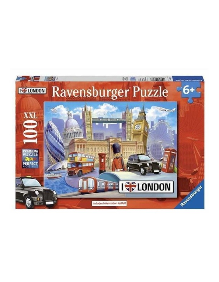 I Love London Puzzle 100pc image 1