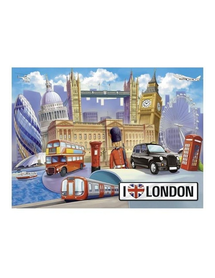 I Love London Puzzle 100pc image 2