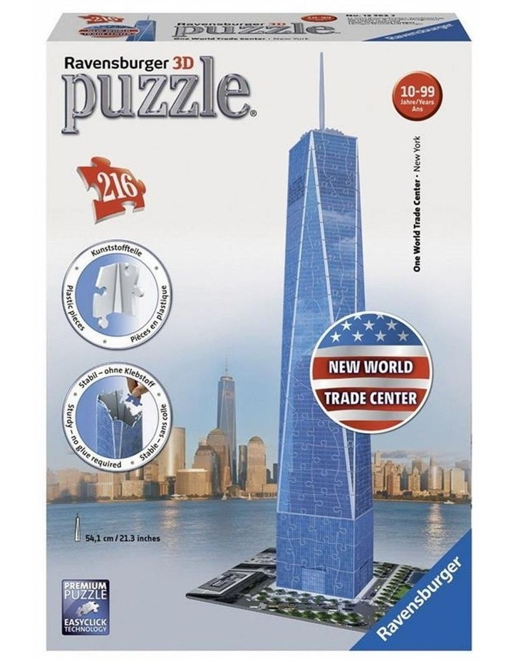 One World Trade Center 3D Puzzle 216pc image 1