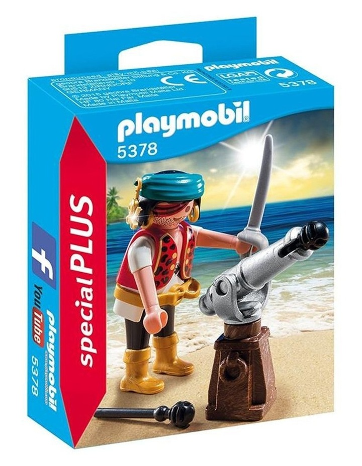 Special Plus Figurines - Pirate With Cannon image 1