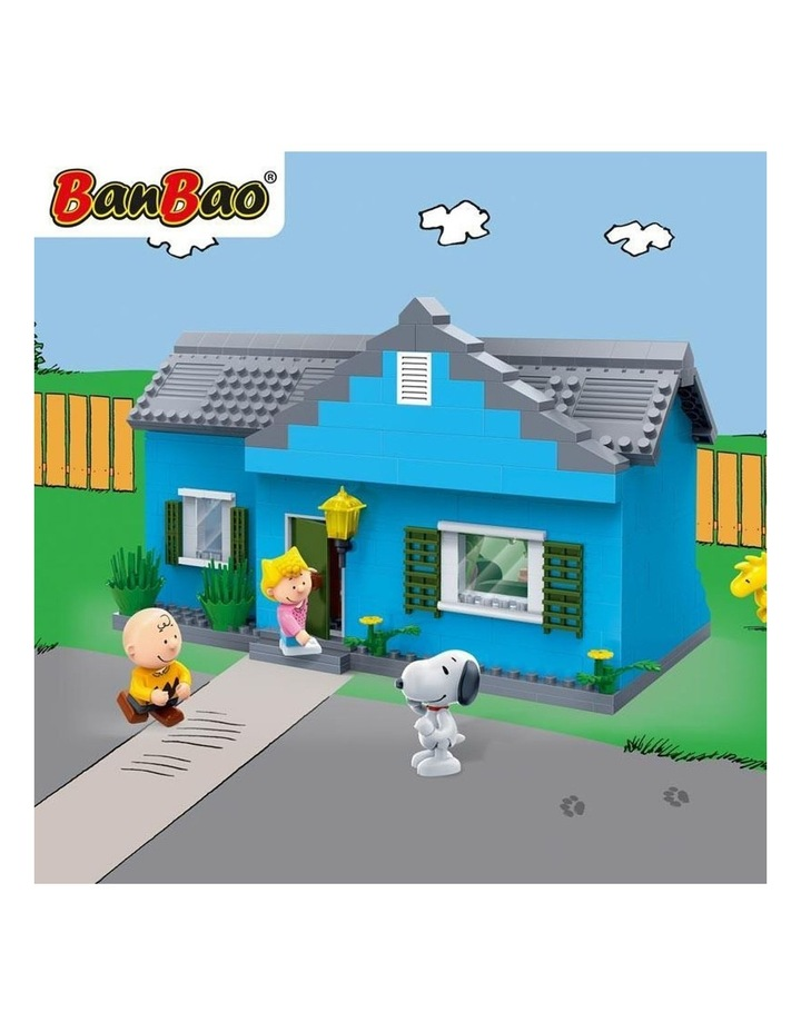Peanuts - Charlie Brown House 7502 image 3