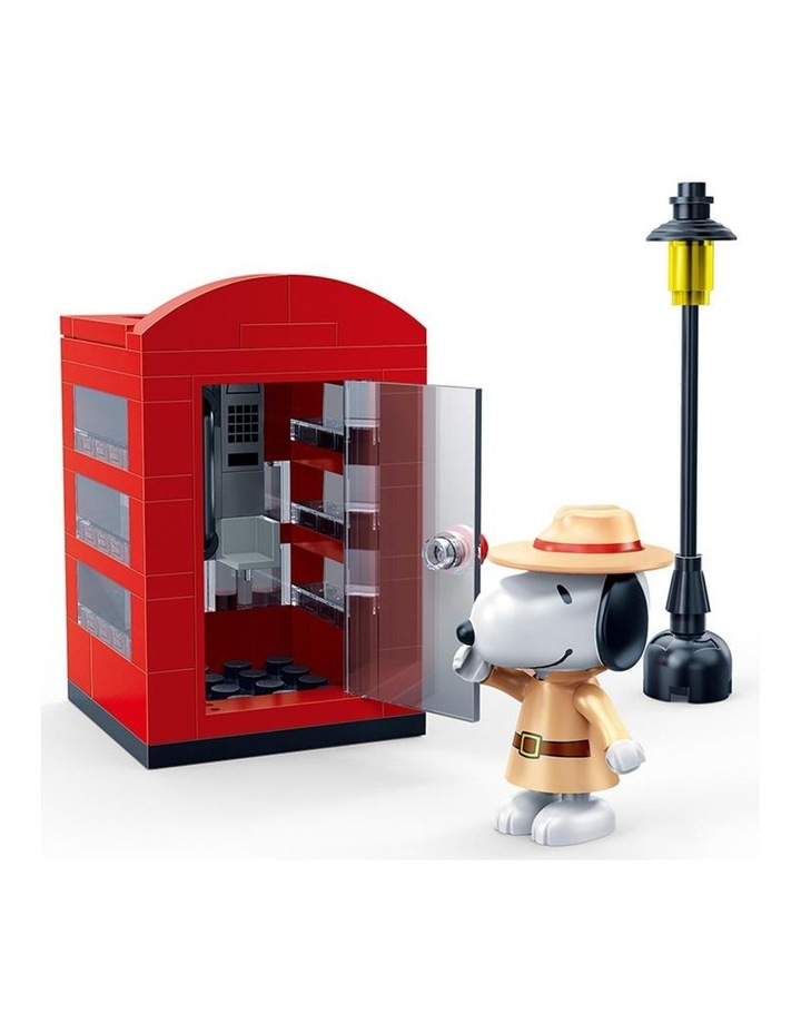 Peanuts - Agent Snoopy Secret Phone Booth image 2