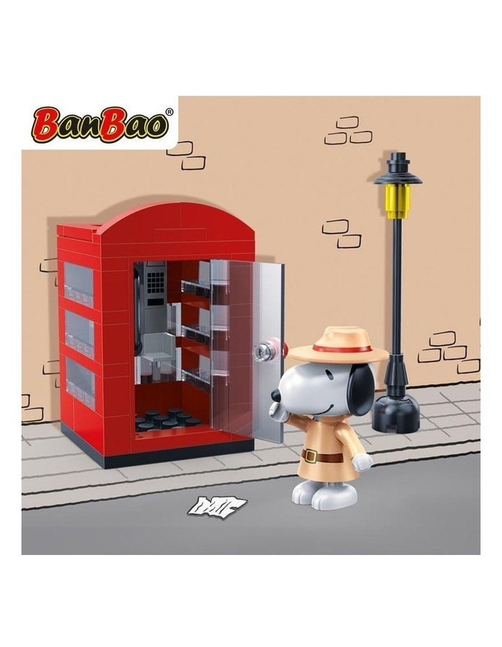 Peanuts - Agent Snoopy Secret Phone Booth image 3