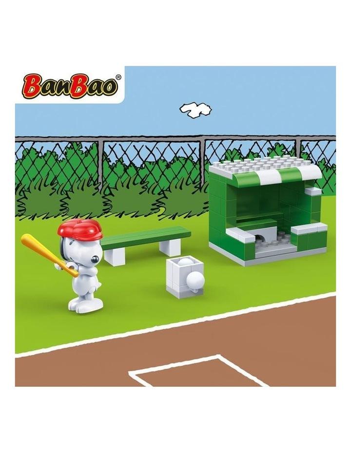 Peanuts - Snoopy Baseball Field image 3