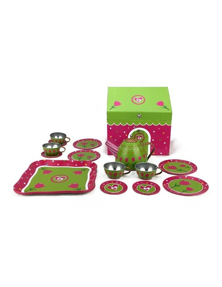 Tulip House Tin Tea Play Set 15 Pieces image 1