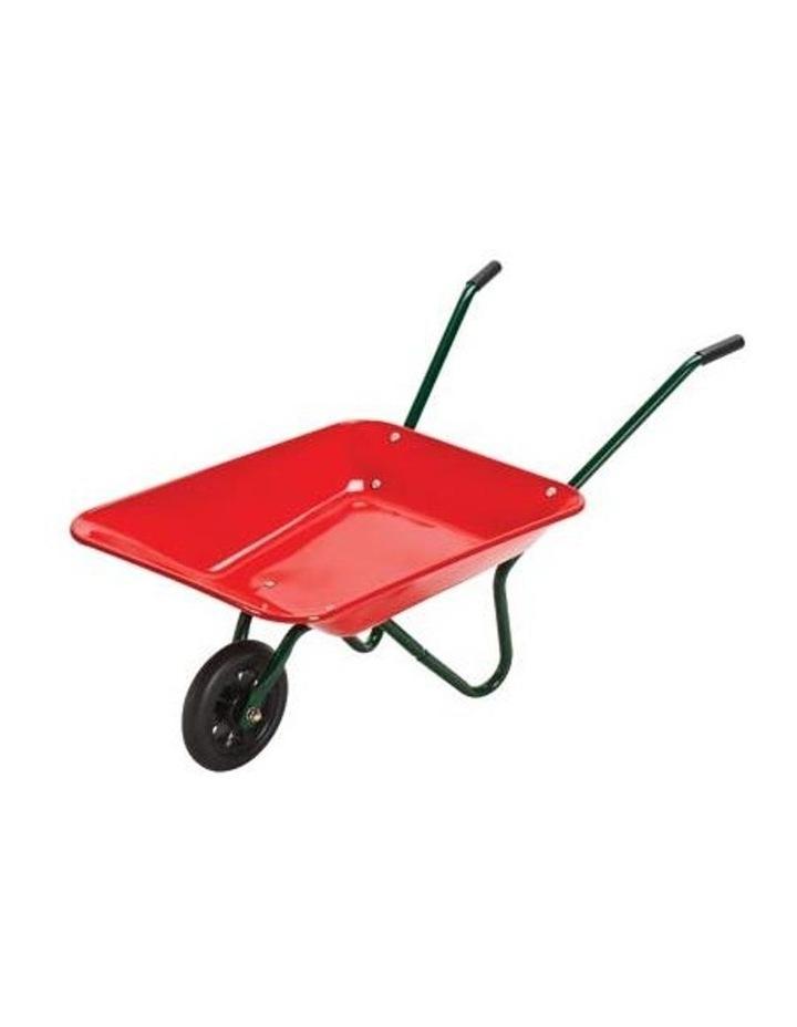 Mighty Metal Wheelbarrow Red image 2