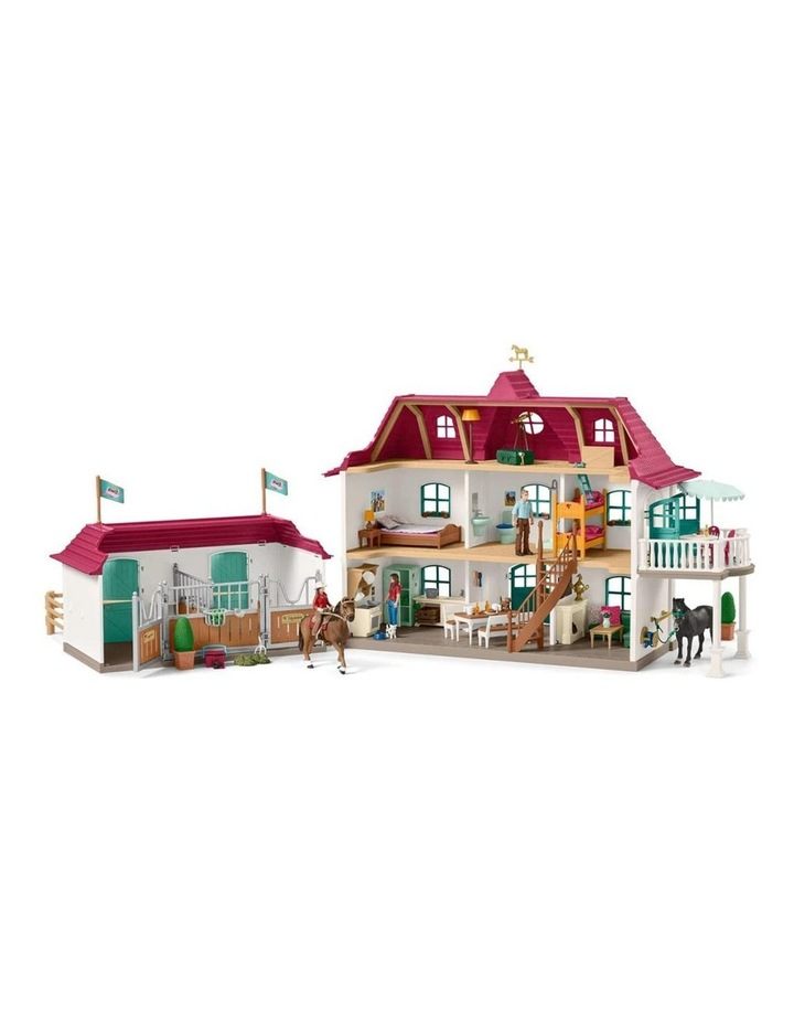 Large Horse Stable Playset image 1