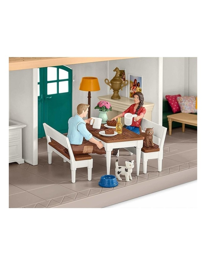Large Horse Stable Playset image 2