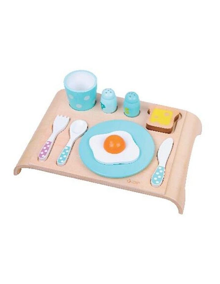 Wooden Pretend Play Toy - Breakfast Set image 1