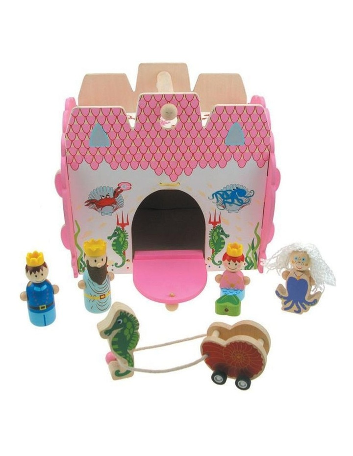 Wooden Mermaid Castle Play Set image 1