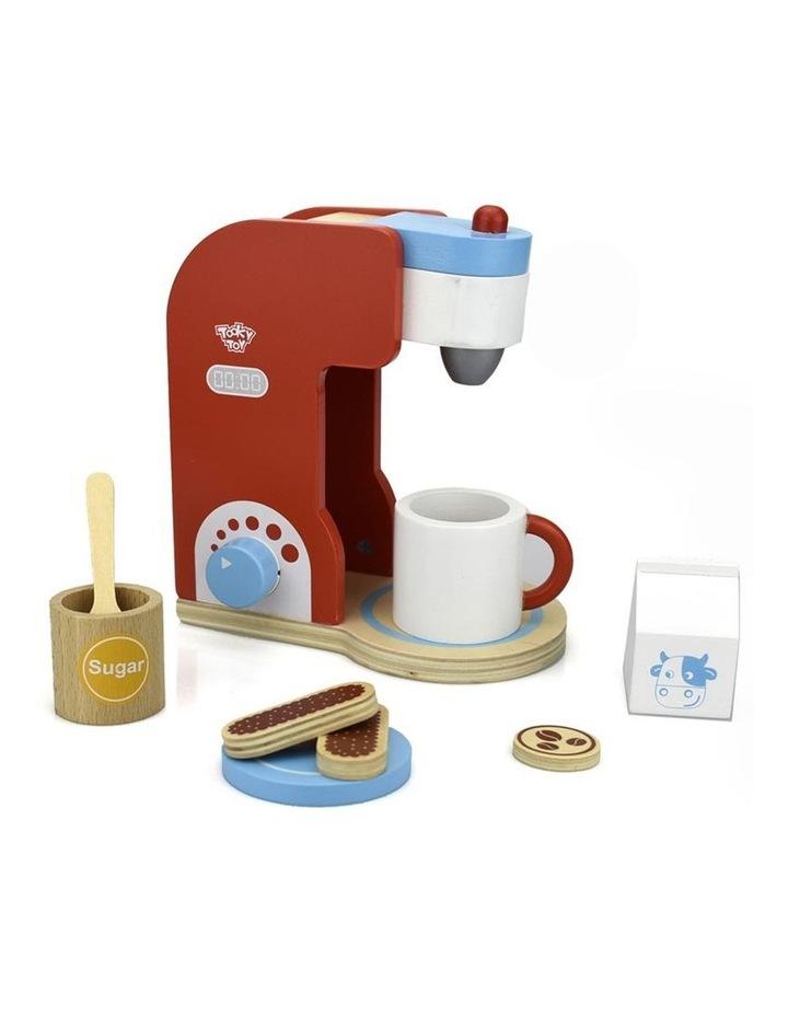 Wooden Coffee Machine Pretend Play Set image 1