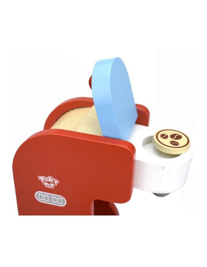 Wooden Coffee Machine Pretend Play Set image 2