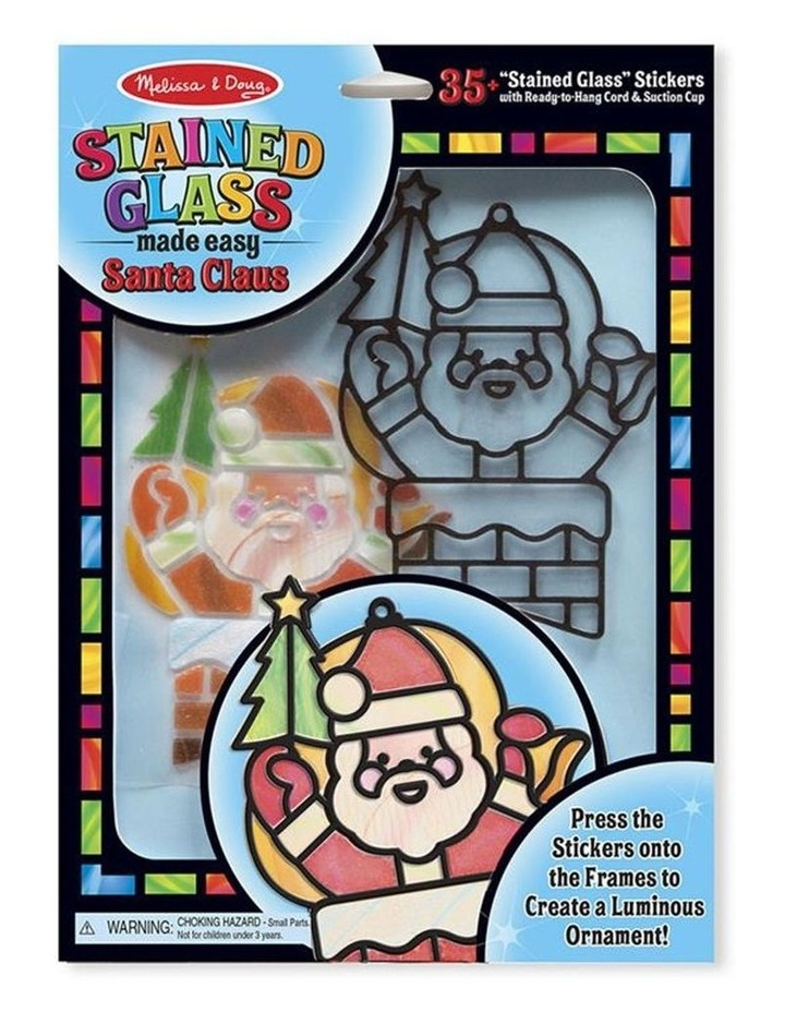 Stained Glass Made Easy - Santa Claus image 1
