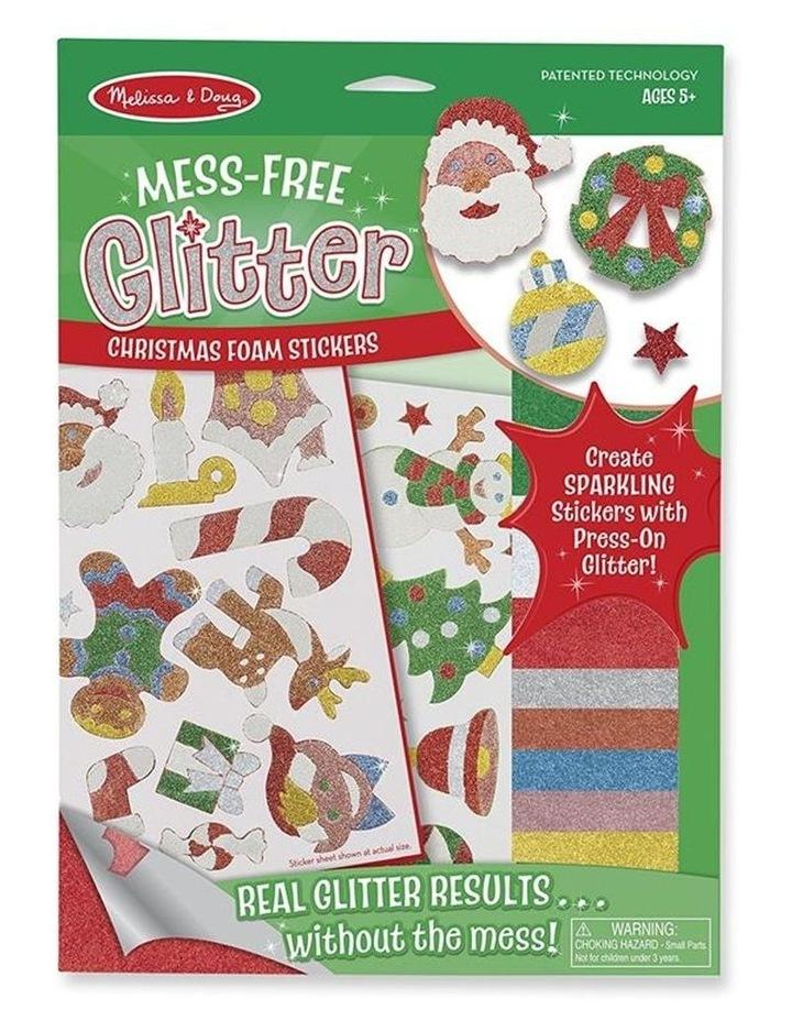 Mess-Free Glitter - Christmas Foam Stickers image 1