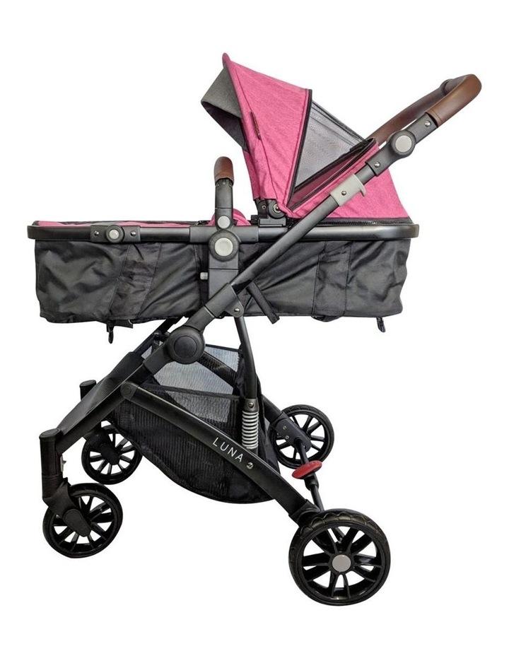 Luna Stroller - Pink image 2