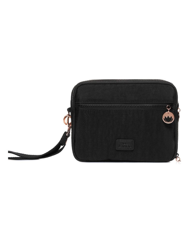 Milo all-in-one Nappy Changer Bag in Black/Rose Gold image 1