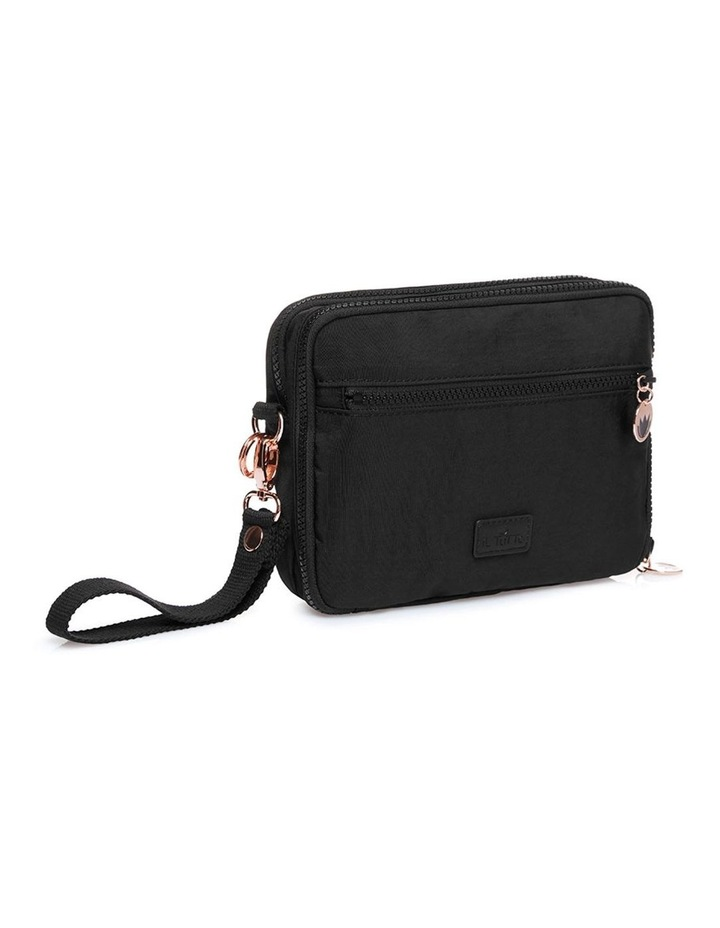 Milo all-in-one Nappy Changer Bag in Black/Rose Gold image 3