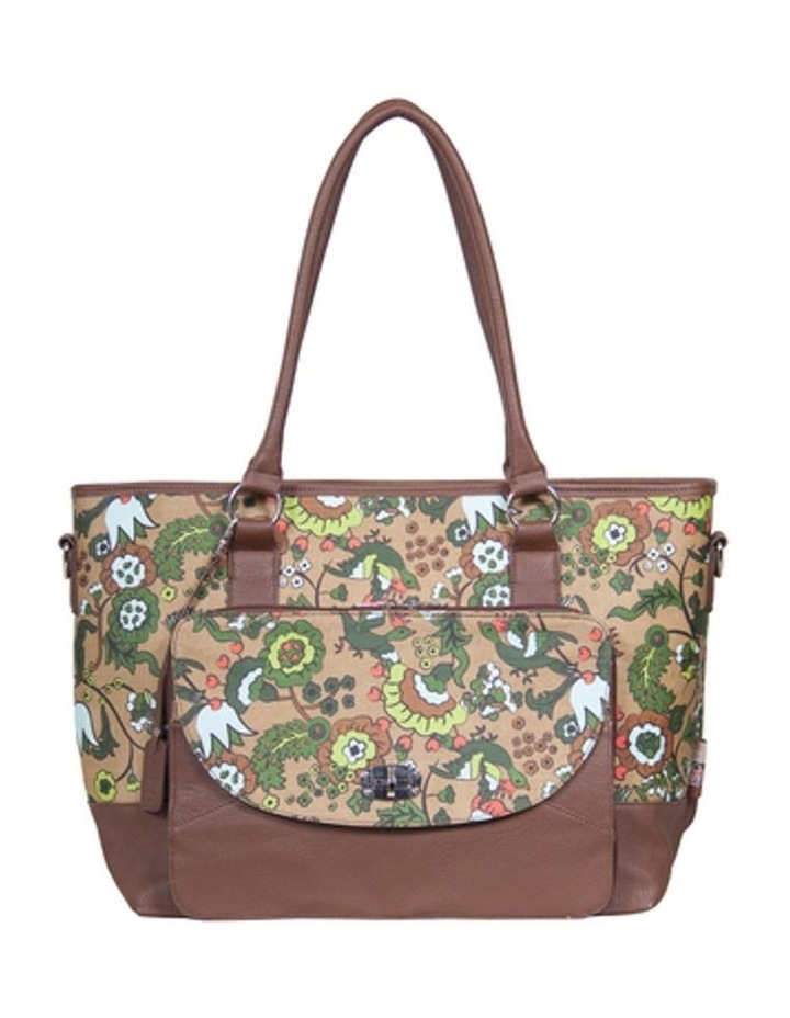 Carry All Tote Nappy Bag Brown image 1
