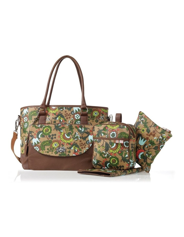 Carry All Tote Nappy Bag Brown image 2