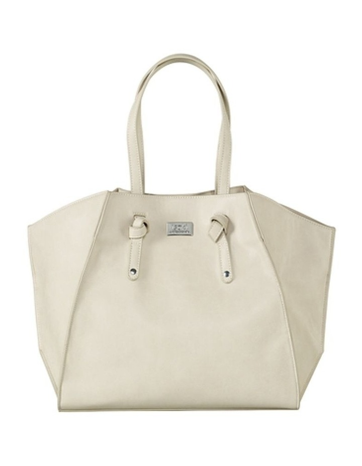 Easy Access Tote Baby Bag White image 1