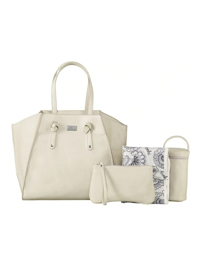 Easy Access Tote Baby Bag White image 2