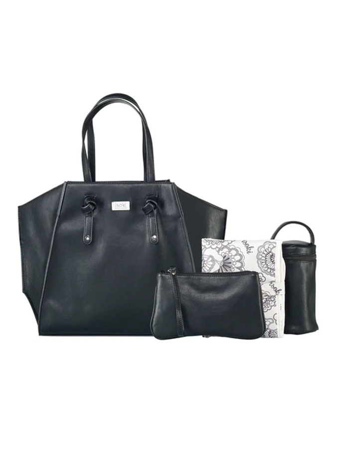 Easy Access Tote Baby Bag Black image 2
