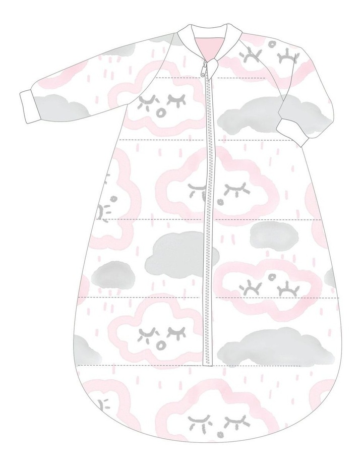 Studio Bag With Arms Cotton 18-36m 3.0 CLOUDS PINK image 1