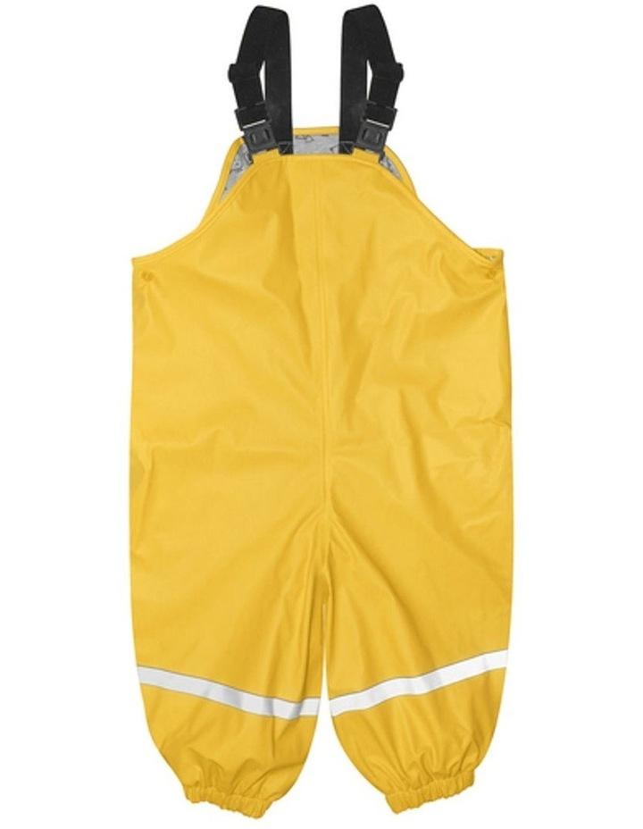 Yellow Waterproof Overalls image 1