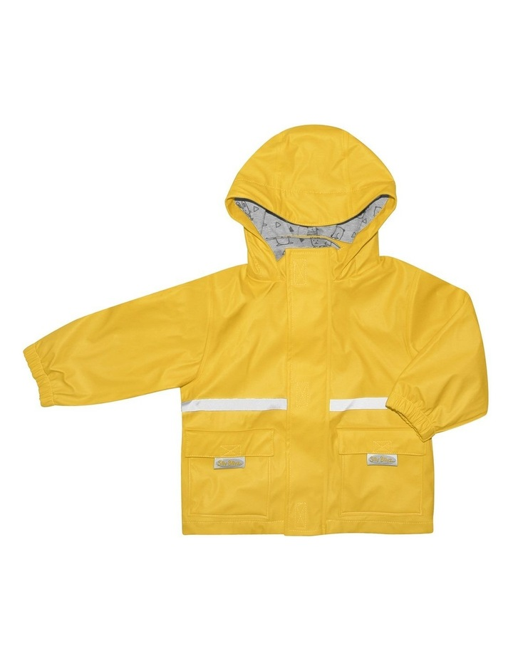 Yellow Waterproof Jacket image 1