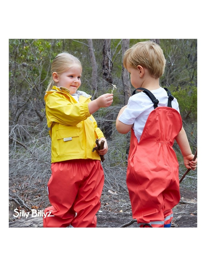 Yellow Waterproof Jacket image 2