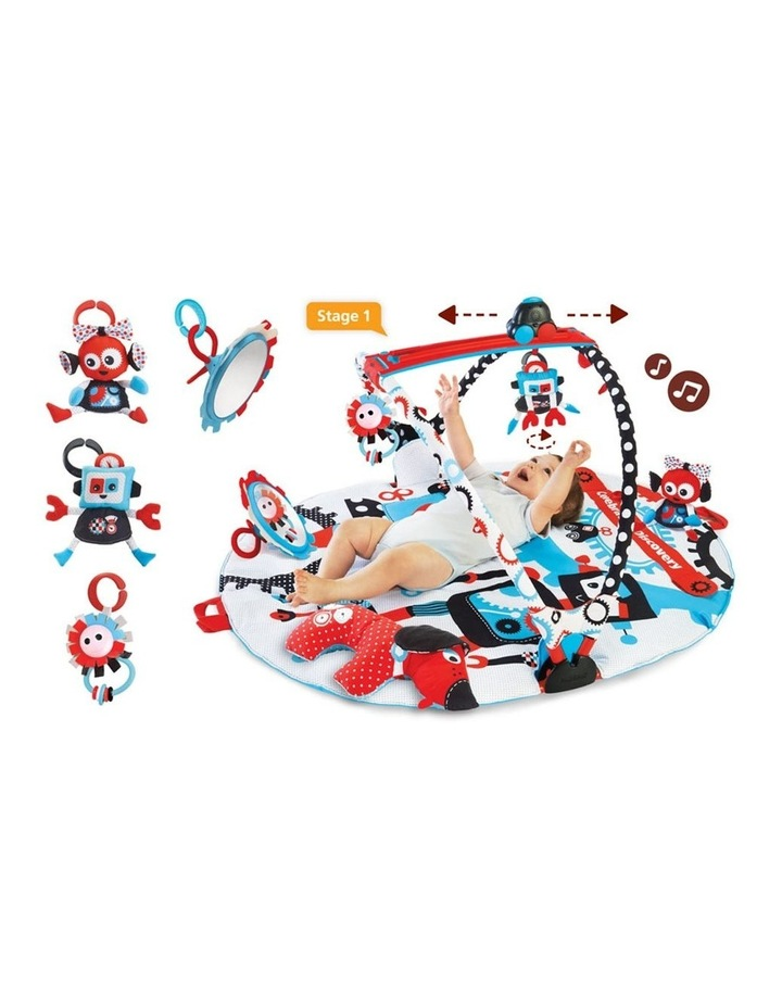Yookidoo Y40128 Gymotion Robo Baby Activity Gym Playland Play Mat image 1