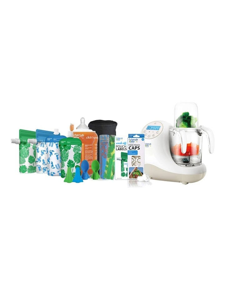 Steamer Blender And Food Pouch & Accessories Bundle image 1