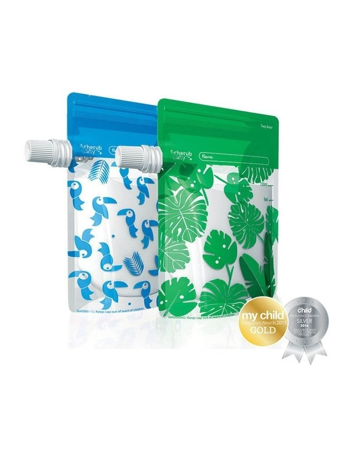 Steamer Blender And Food Pouch & Accessories Bundle image 2