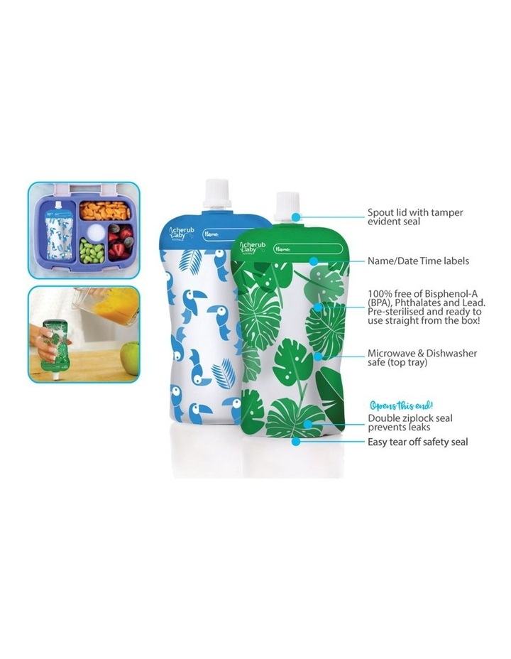 Steamer Blender And Food Pouch & Accessories Bundle image 3