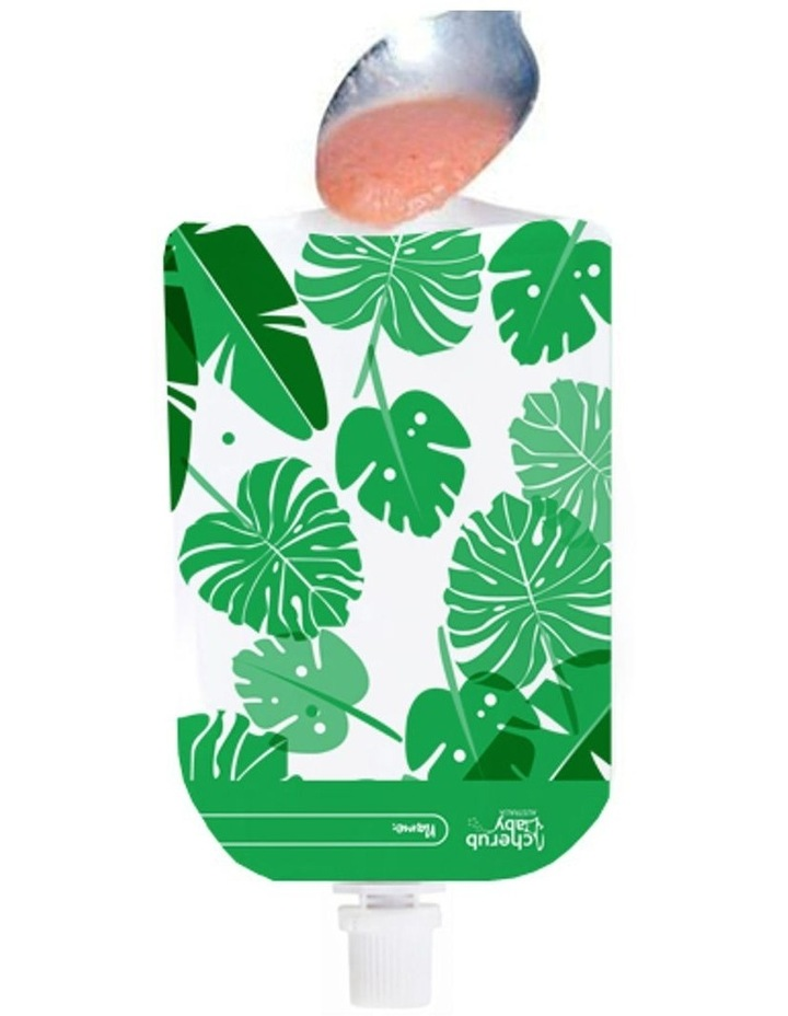 On The Go Mini Food Pouches Toucan Blue & Rainforest Green 10 Pack image 7