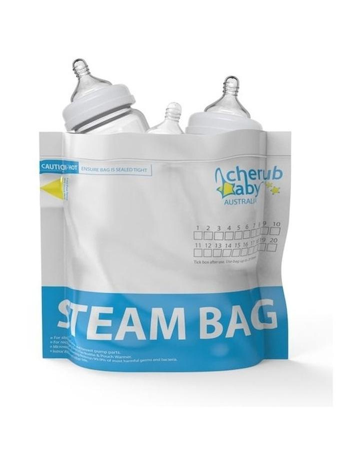 Natristeam Microwave Steam Steriliser Bags 12 pack / New image 1