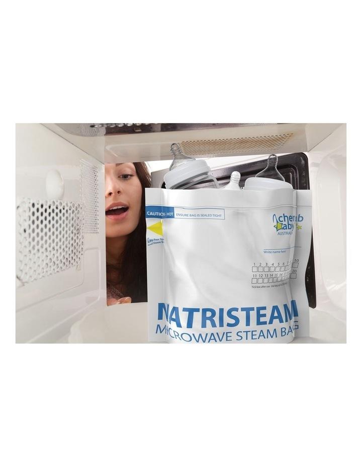Natristeam Microwave Steam Steriliser Bags 12 pack / New image 2