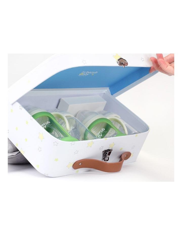 Glass Baby Bottles Starter Kit - Green image 3