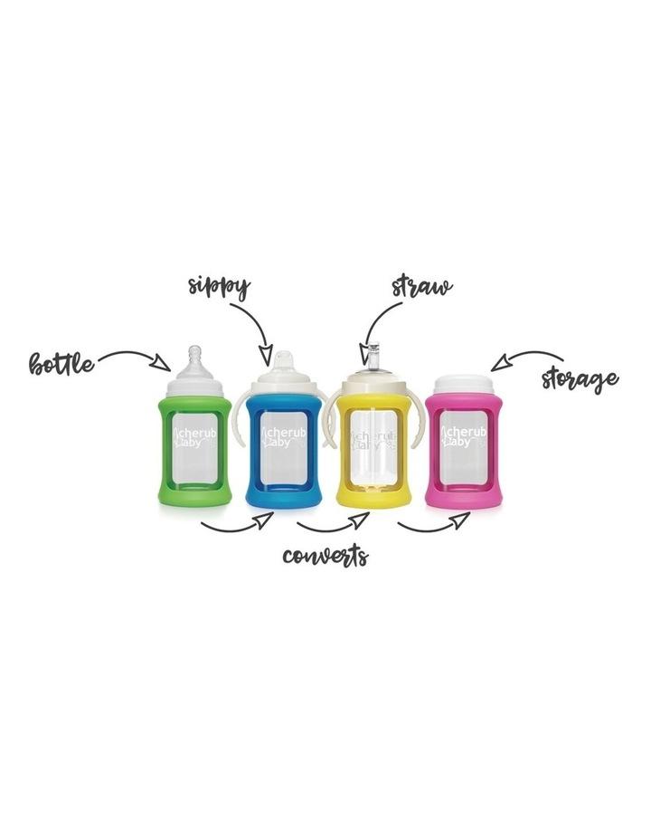 Glass Baby Bottles Starter Kit - Green image 5